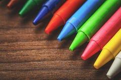 Cera del color Imagen de archivo