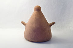 Ceramic_1. Ceramic object on a white background Stock Image