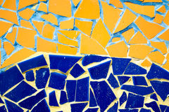 Ceramic abstract background. View of ceramic wall abstract background Stock Photos