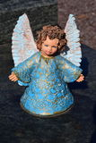 Ceramic angel, guarding angel cemetery, sleeping angel cemetery, dreaming angel cemetery, angel made from ceramic, angel cemetery Royalty Free Stock Photos