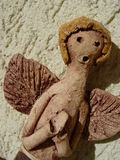 Ceramic angel praying #2 Stock Photo