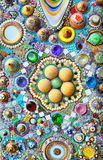 Ceramic. Art of ceramic ,Art on the walls Royalty Free Stock Photo