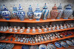 Ceramic art shop Royalty Free Stock Photos