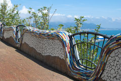 Ceramic art from Vietri sul Mare village, by Amalfi peninsula Stock Photo