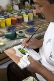 Ceramic artist's studio - Cotopaxi - Ecuador Stock Photos