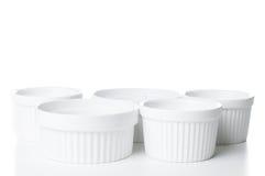 Ceramic bakeware isolated Royalty Free Stock Image