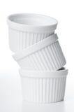 Ceramic bakeware isolated Stock Photo