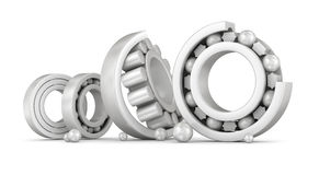 Ceramic bearings group Stock Photos