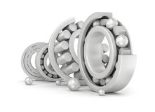 Ceramic bearings group Royalty Free Stock Images