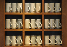 Ceramic beer jugs Stock Photography