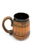 Ceramic beer mug Royalty Free Stock Photos