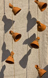Ceramic bells Stock Images