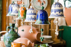 Ceramic Bells Royalty Free Stock Photos