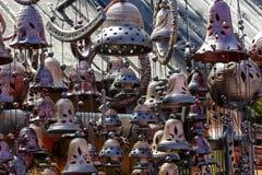 Ceramic Bells Stock Images
