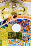 Ceramic Bench Park Guell - Barcelona Spain Royalty Free Stock Photo