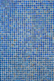 Ceramic Blue Tile Wall Background Stock Images