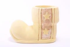 Ceramic boot Royalty Free Stock Photos