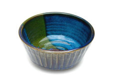 Ceramic Bowl with clipping path Stock Photo