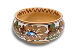 Ceramic bowl Royalty Free Stock Images