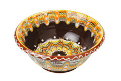 Ceramic bowl with pattern Stock Photos