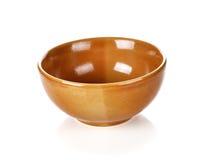Ceramic bowl Stock Image