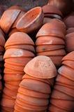 Ceramic bowls Stock Photos