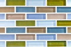 Ceramic brick tile wall,background Stock Image