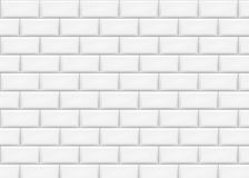 Ceramic brick tile wall. Vector illustration. Eps 10 royalty free illustration