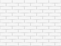Ceramic brick tile wall. Vector illustration. Eps 10.  Stock Photography