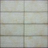 Ceramic brick tiles seamless pattern texture Royalty Free Stock Image