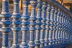 Ceramic Bridge inside Plaza de Espana Royalty Free Stock Photo