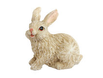 Ceramic bunny Stock Images