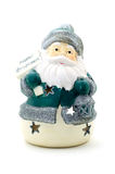 Ceramic candle holder in the form of Santa Claus. Stock Photography