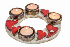 Ceramic Candle Holder Stock Photography