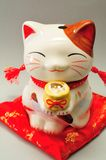 Ceramic cat Royalty Free Stock Photo