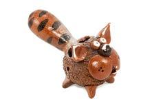Ceramic cat Stock Photo