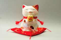 Ceramic cat Royalty Free Stock Photos
