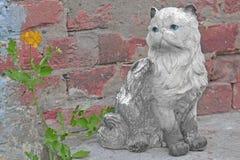 Ceramic cat Royalty Free Stock Photo