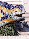 Ceramic Chameleon Stock Photo