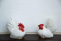 Ceramic chicken Royalty Free Stock Photos