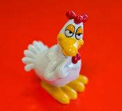 Ceramic chicken magnet Royalty Free Stock Photography