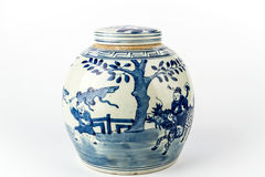 Ceramic Chinese Vase Royalty Free Stock Photos