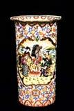 Ceramic Chinese vase stock photo