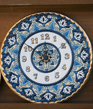 Ceramic clock Stock Images