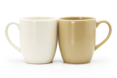 Ceramic coffee cup Stock Photography