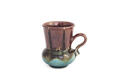 Ceramic Coffee Cup Royalty Free Stock Photography