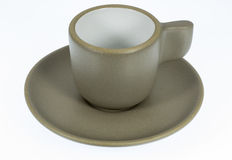 Ceramic coffee cup Royalty Free Stock Images