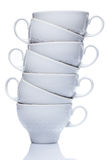 Ceramic coffee cups Stock Photo