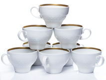 Ceramic coffee cups Royalty Free Stock Image