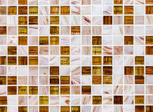 Ceramic colorful tiles mosaic composition pattern backgrou Royalty Free Stock Images